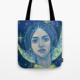 Hecate / Goddess of the Moon Tote Bag