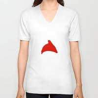 steve zissou V-neck T-shirts featuring The Life Aquatic with Steve Zissou by bonieiji