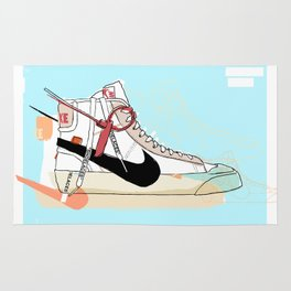 Off-White Blazer Rug