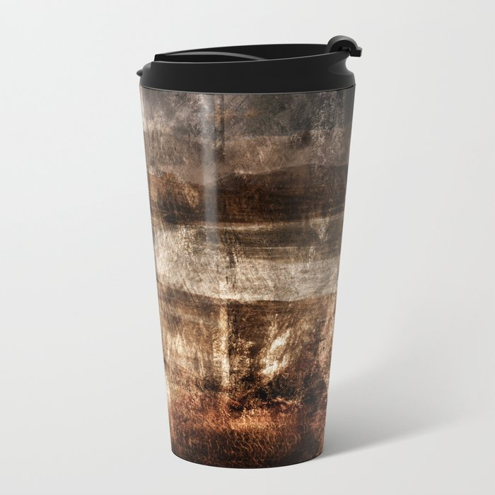 painting photo art Metal Travel Mug