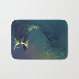The Fox who talked the Moon and the Stars Bath Mat