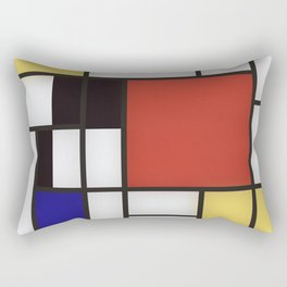 Piet Mondrian Rectangular Pillow