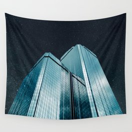 City of glass (1983) Wall Tapestry