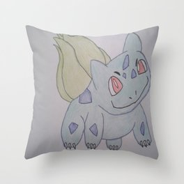 Grass type Throw Pillow