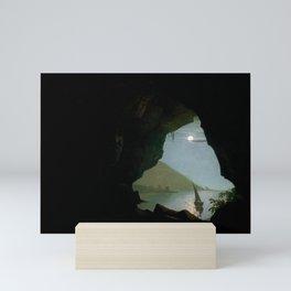 Joseph Wright of Derby - Grotto in the Gulf of Salerno Mini Art Print