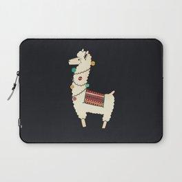 Christmas llama Tree Laptop Sleeve