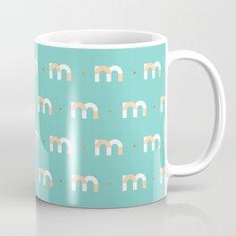 36 days of type - m Coffee Mug