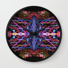 Whipping Wall Clock