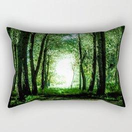 I found my way Rectangular Pillow