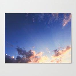 Splash of Heaven Canvas Print
