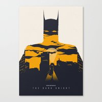 movie poster Canvas Prints featuring Movie Poster by Inno Theme