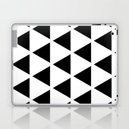 Sleyer Black on White Pattern Laptop & iPad Skin