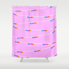 Silly Spring Shower Curtain