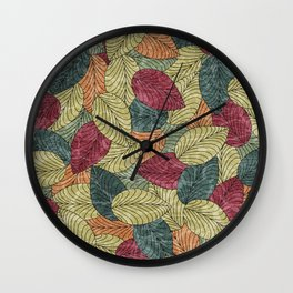 Let the Leaves Fall #04 Wall Clock