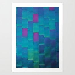 Chroma Flair Art Print