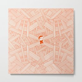 Labyrinth Metal Print