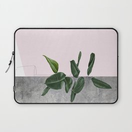 Pot plant - concrete Laptop Sleeve