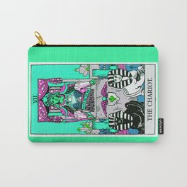 7. The Chariot- Neon Dreams Tarot Carry-All Pouch