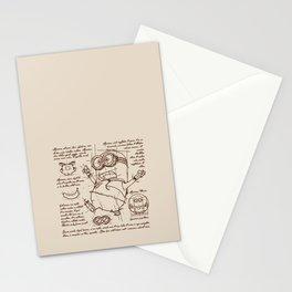 Minion Plan Stationery Cards