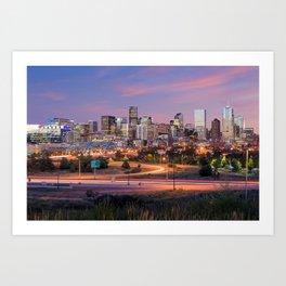Denver - USA Art Print