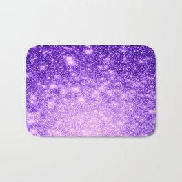 Purple Stars Ombre Bath Mat