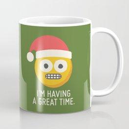 White Knuckle Christmas Coffee Mug