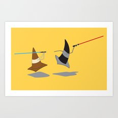 The Cone Wars Art Print
