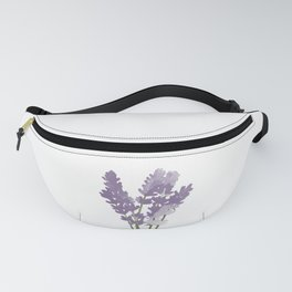 Watercolor Lavender Fanny Pack