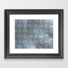 Aluminum Textured Framed Art Print