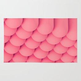 Pink Tubes Rug