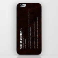Supernaturalist iPhone & iPod Skin