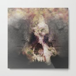 The Undisturbed Sleep Metal Print
