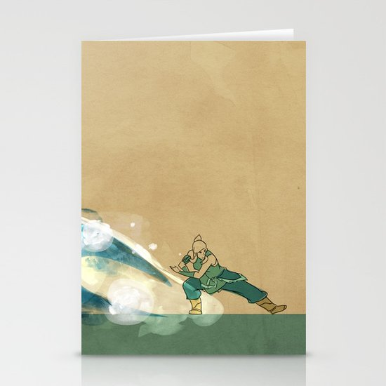 Avatar Korra Stationery Cards