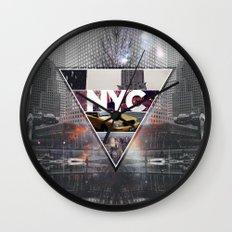 NYC I Wall Clock