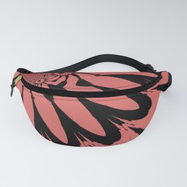 The Modern Flowers Living Coral Fanny Pack