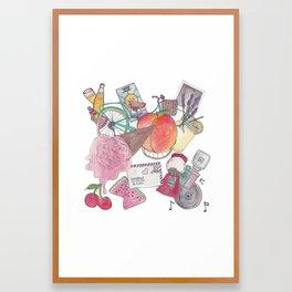 Summer Essentials Framed Art Print