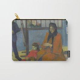 Paul Gauguin - Schuffenecker's Studio (1889) Carry-All Pouch