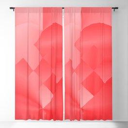 Danish Heart Love Blackout Curtain