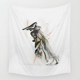 Drift Contemporary Dance Two Wall Tapestry