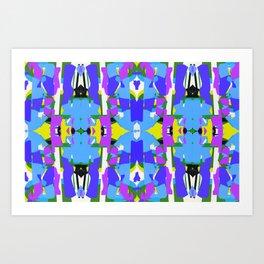 Mozaika2 Art Print
