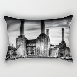 Battersea Power Station London Rectangular Pillow