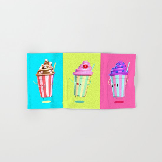 Milkshake Day Hand & Bath Towel