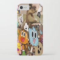 gumball iPhone & iPod Cases featuring GUMBALL by rosita