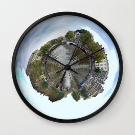 Planet Amsterdam Wall Clock