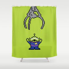 Pixel Story Shower Curtain