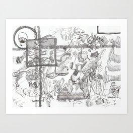 Austerity Assessor Art Print