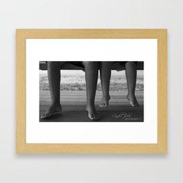 Relaxing Framed Art Print