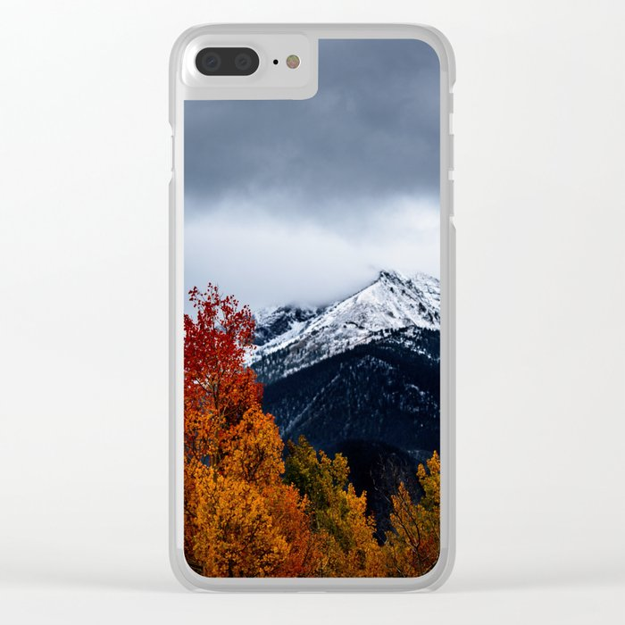 early winter Clear iPhone Case