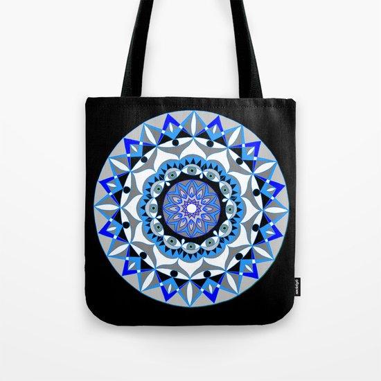 My Peace Mandhala | Secret Geometry | Energy Symbols Tote Bag