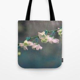 aqua c h e r r y blossoms Tote Bag